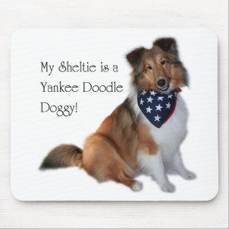 Yankee Doodle Sheltie Mouspad Mouse Mat