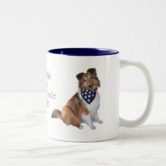 Yankee Doodle Sheltie Mug