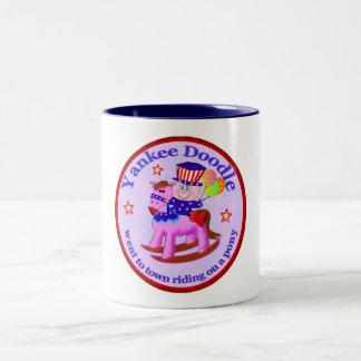 Yankee Doodle Two-Tone Coffee Mug