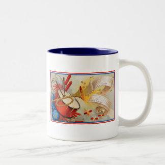 Yankee Doodle Two-Tone Mug