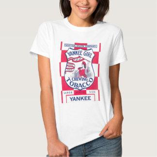 Yankee Girl Chewing Tobacco Image Shirt