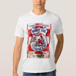 Yankee Girl Chewing Tobacco Tee Shirt
