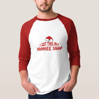 Yankee Swap Gift - Santa Hat T Shirt