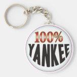 Yankee Tag Keychain