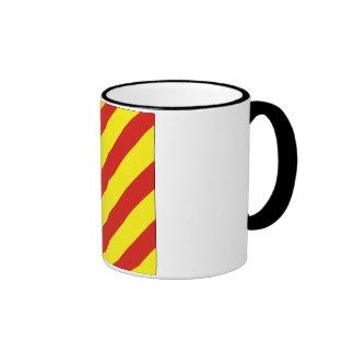 Yankee (Y) Signal Flag Ringer Mug