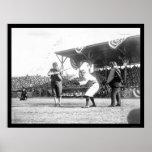Yankees Senators Baseball Game 1909 Poster