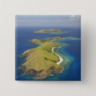 Yanuya Island, Mamanuca Islands, Fiji 15 Cm Square Badge