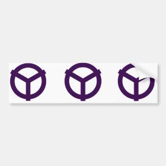 Yao, Japan Bumper Sticker