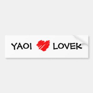 YAOI LOVER bumper sticker