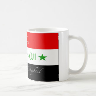 Yaqdhan Mug - Old Iraq Flag