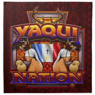 Yaqui Nation Flag Deer Dancer design Napkin