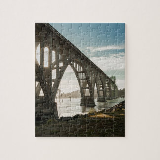 Yaquina Bay Bridge in Newport, Oregon Jigsaw Puzzle