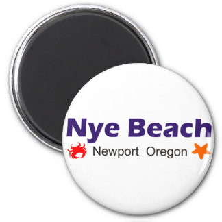 yaquina head lighthouse 6 cm round magnet