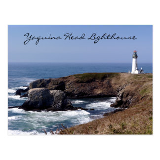 Yaquina Head Lighthouse Oregon Postcard