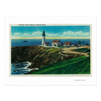 Yaquina Lighthouse and Yaquina HeadYaquina, OR Postcard