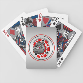 Yard Bull Dog Playing Cards