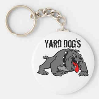 Yard Dog's Basic Round Button Key Ring