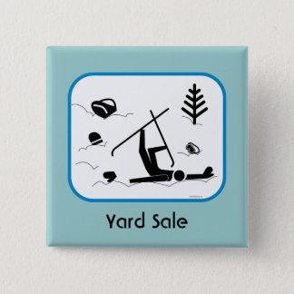 Yard Sale 15 Cm Square Badge