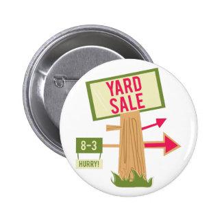 Yard Sale 6 Cm Round Badge