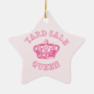 Yard Sale Queen Ceramic Star Decoration