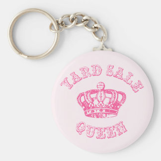 Yard Sale Queen Key Ring