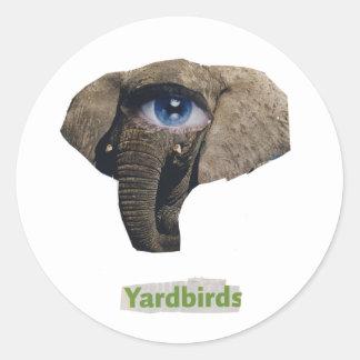 Yardbirds Classic Round Sticker