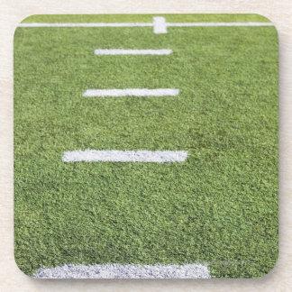 Yardlines on Football Field Coaster