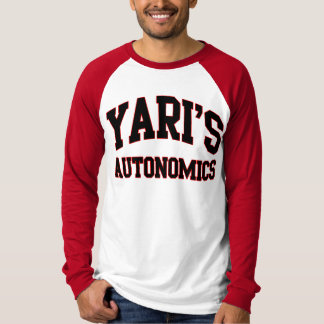 Yari's Autonomics softball team t shirt