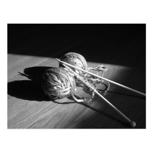 Yarn and Butterfly Shadow Post Cards