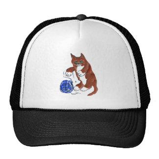 Yarn Bounce, Wheeeeee, says Kitten Hats