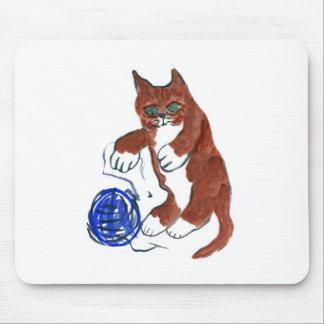 Yarn Bounce, Wheeeeee, says Kitten Mouse Pad