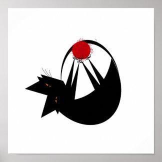 Yarn Cat Poster