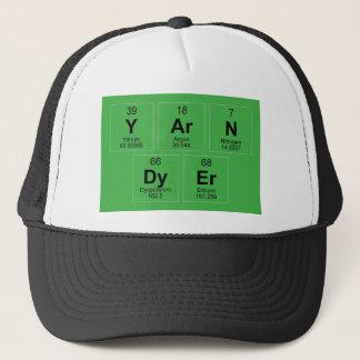 Yarn Dyer Periodic table Breaking Bad like Trucker Hat