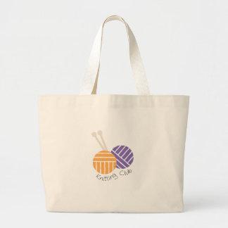 Yarn_Knitting Club Canvas Bags
