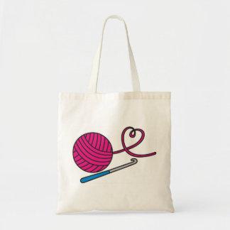 Yarn Love tote bag