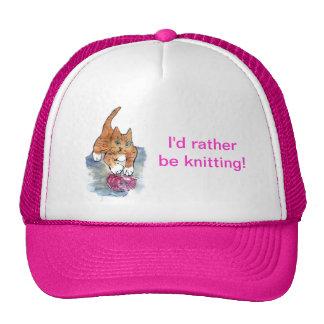 Yarn Maniac - wild kitten VS Yarn Cap