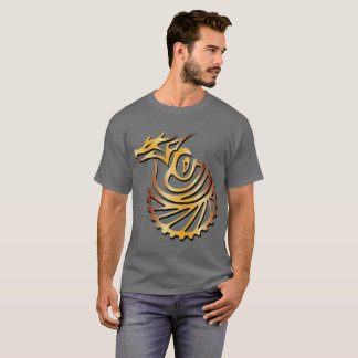 Yarn Quest The Steam Age Dark Tshirt