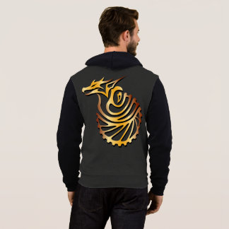 Yarn Quest The Steam Age Zip Hoodie
