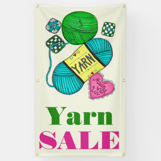 Yarn Sale Banner