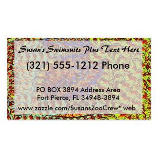 Yarn Scribbles earthy colors design graphic Pack Of Standard Business Cards