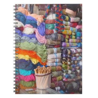 Yarn Shop Spiral Notebooks