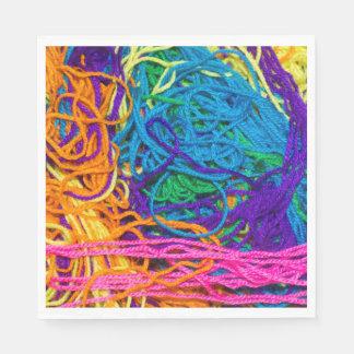 Yarn Tangles Paper Napkin