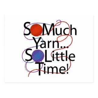 Yarn Time Postcard