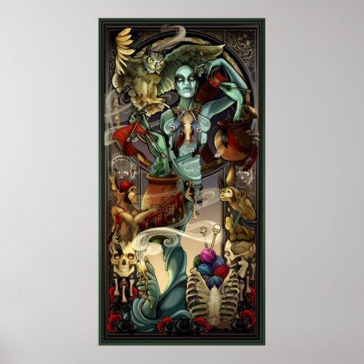 "Yarn Zombies ""Bridgette"" Full-Length Poster"