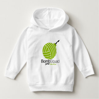 Yarnbombers BombSquad Toddler Hoodie