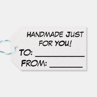 "Yarnivore Cat Tags ""Handmade Just for You"""