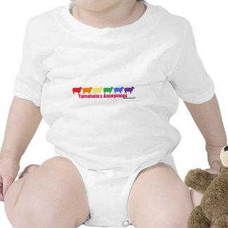 Yarnoholics Anonymous Rainbow Sheep Bodysuit