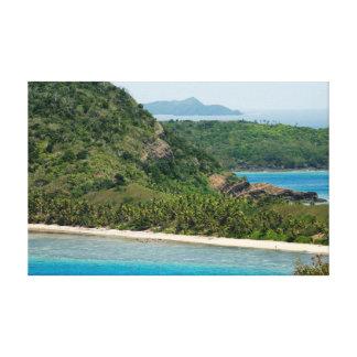 Yasawa Islands Fiji Stretched Canvas Print