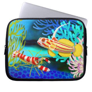 Yasha Hase Goby Pistol Shrimp Electronics Bag Computer Sleeve