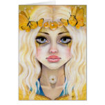 Yasi the Yellow Queen Greeting Card